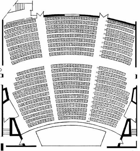 Схема оперного театру